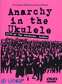 new cover of the DVD 'Anarchy in the Ukulele'